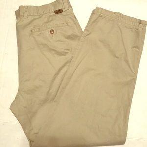 Lacoste khaki pants men's sz 36 x 30 like new nice